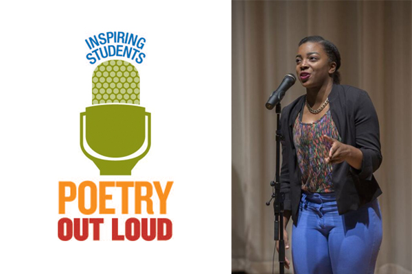Bailee Laws Named Poetry Out Loud State Champion