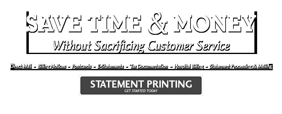 Statement Printing