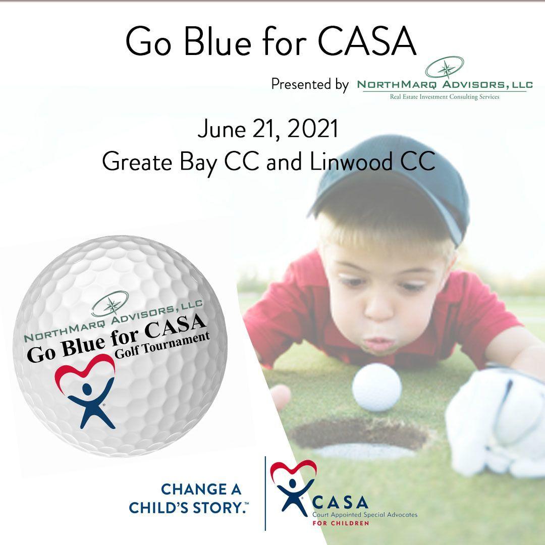 Go Blue for CASA Golf Tournament