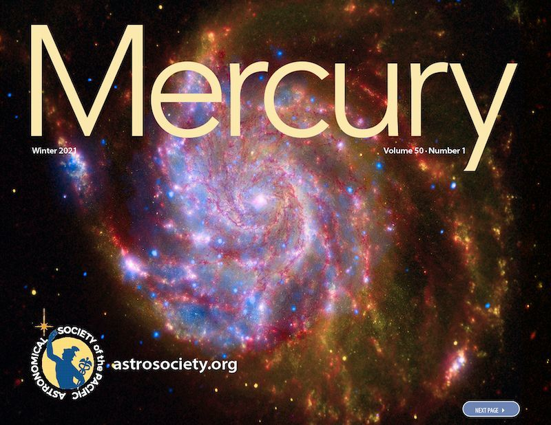 The Winter 2021 issue of Mercury is LIVE