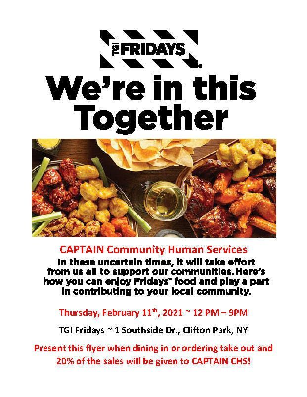 TGI Fridays Fundraiser