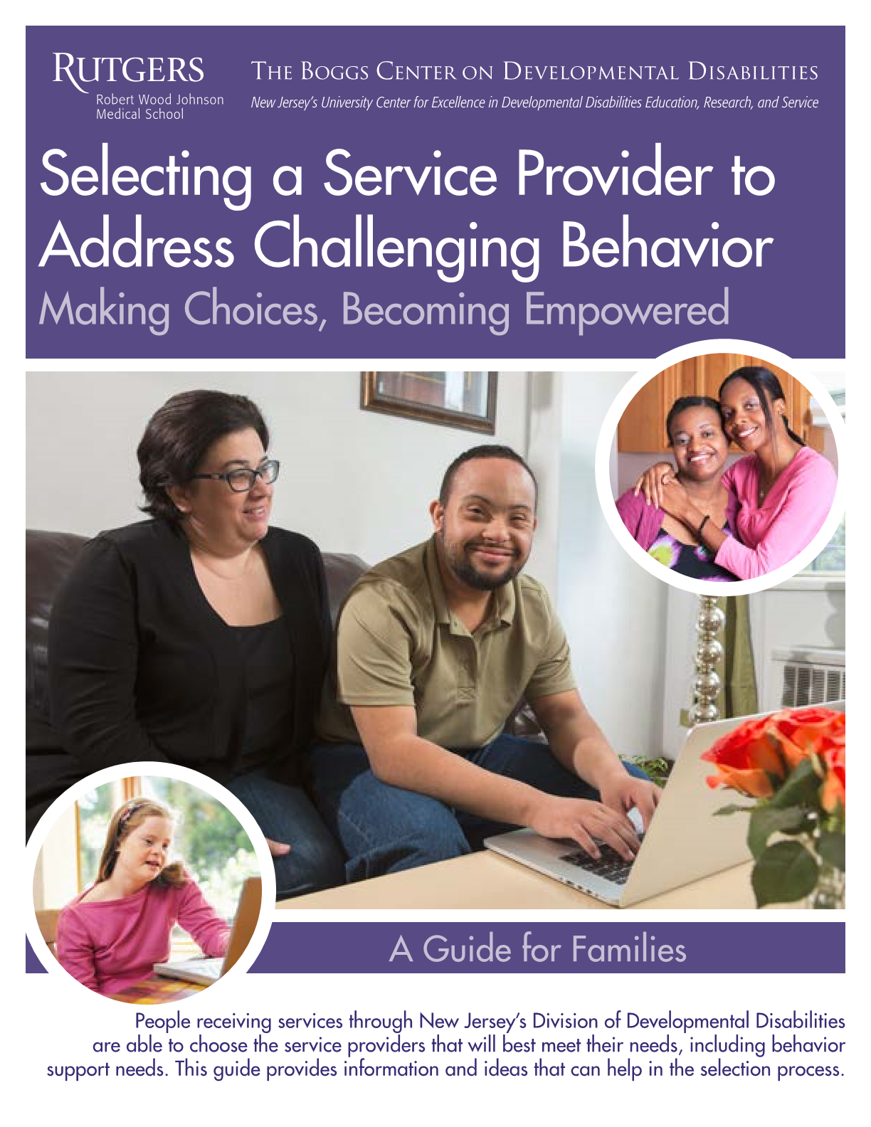 Selecting a Service Provider to Address Challenging Behavior:  Making Choices, Becoming Empowered