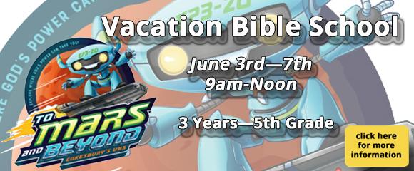 *Vacation Bible School