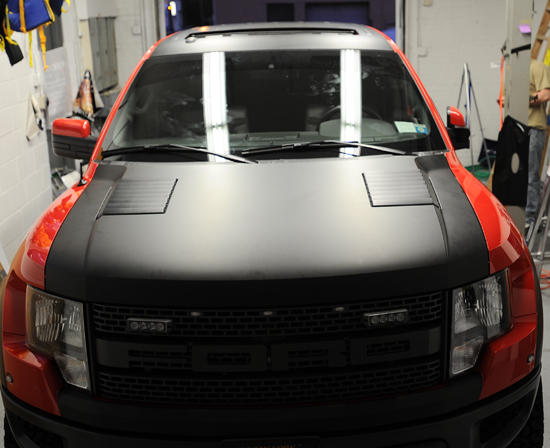 Raptor Hood Matte Black Wrap