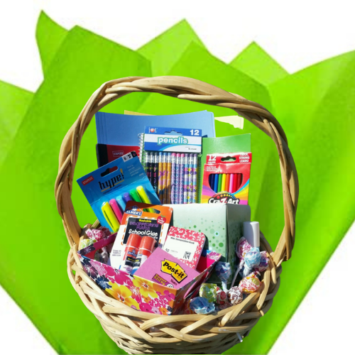 Small Classroom Supply Basket