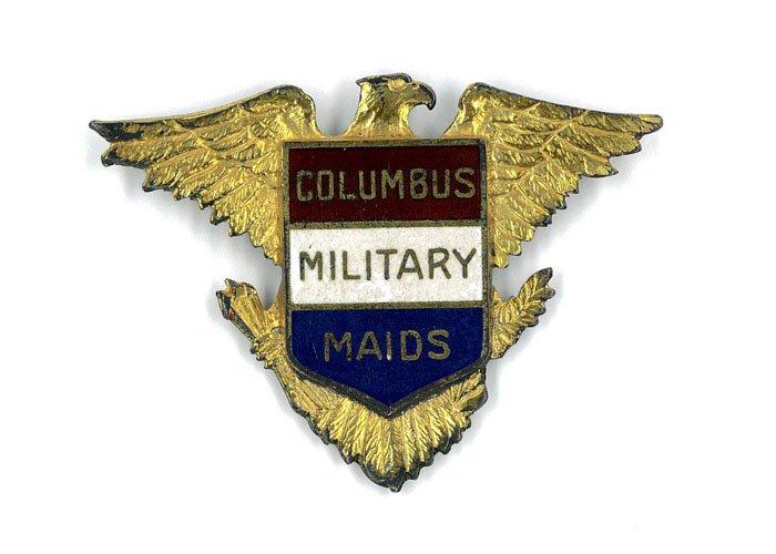 Columbus Military Maids Pin
