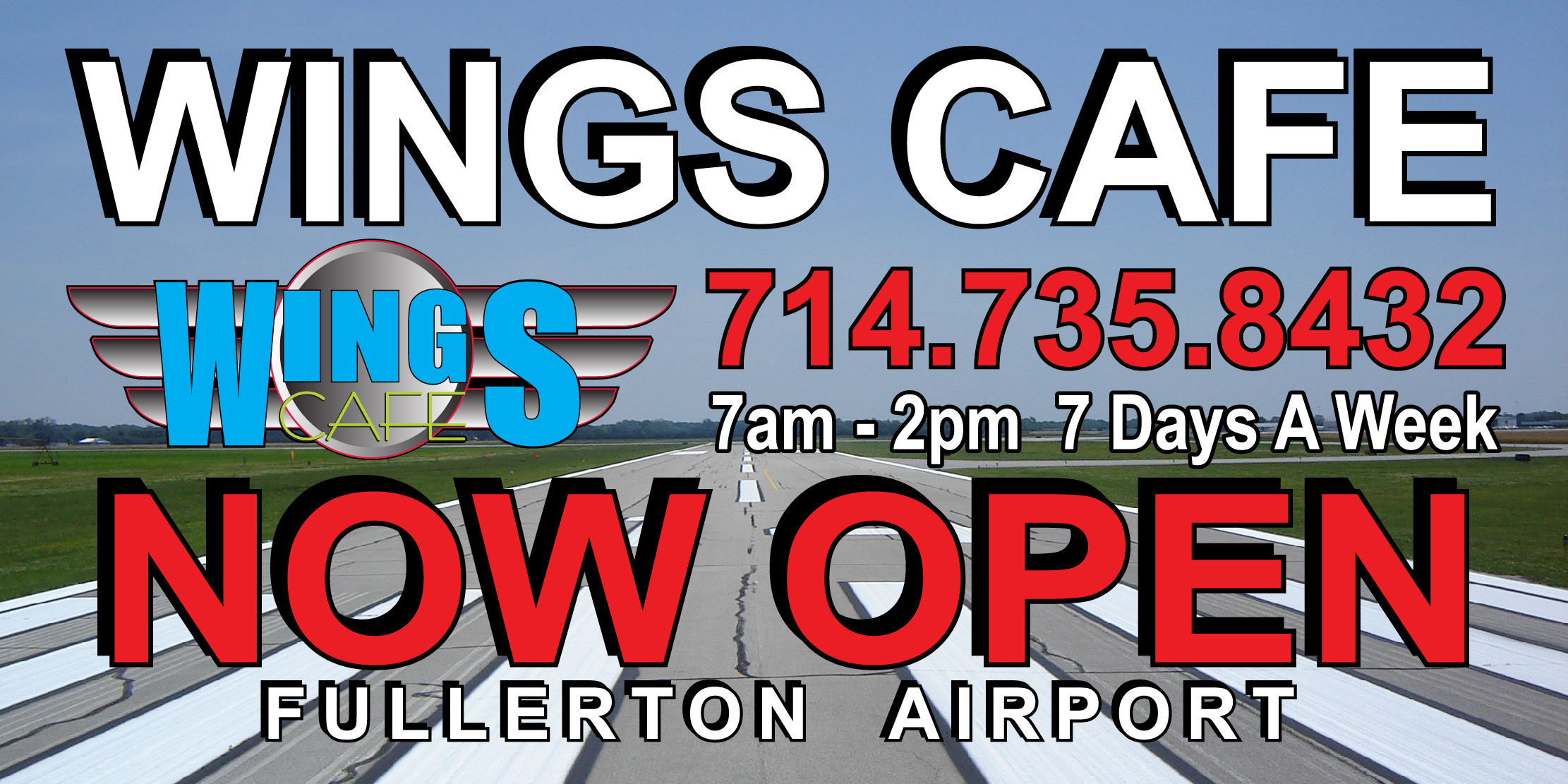 Airport Cafe Banner
