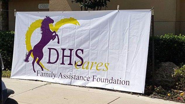 Denton High Cares banner