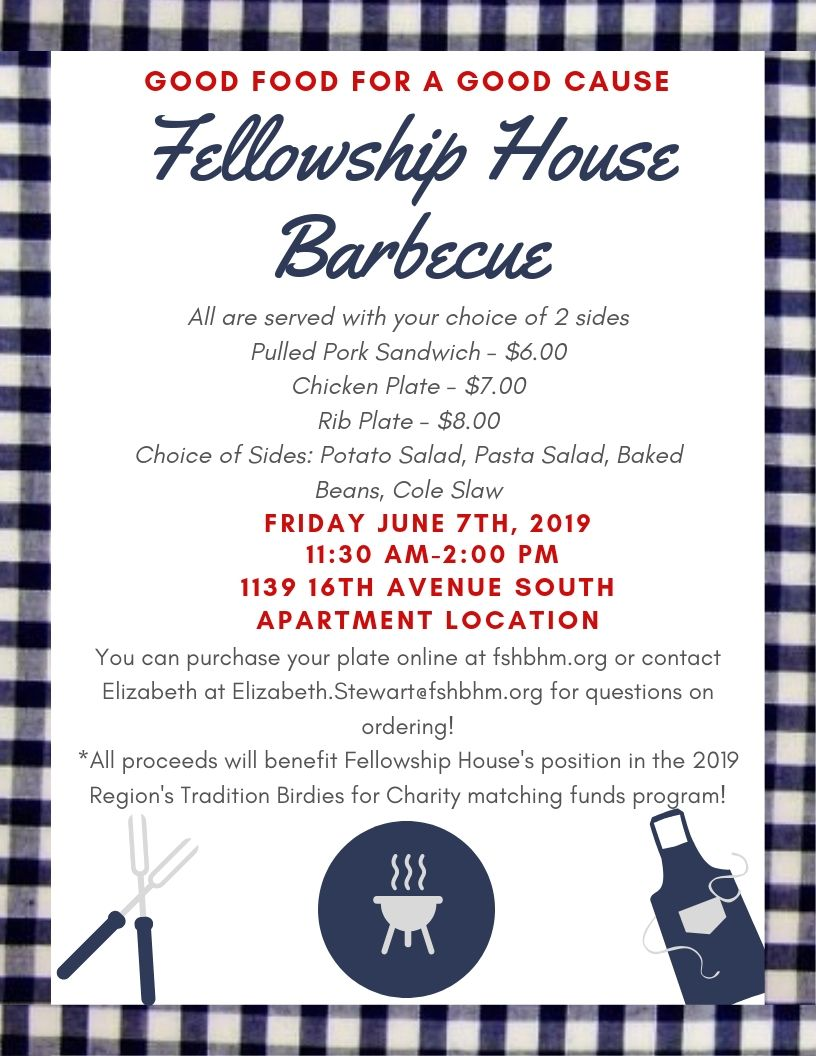 Fellowship House Barbecue