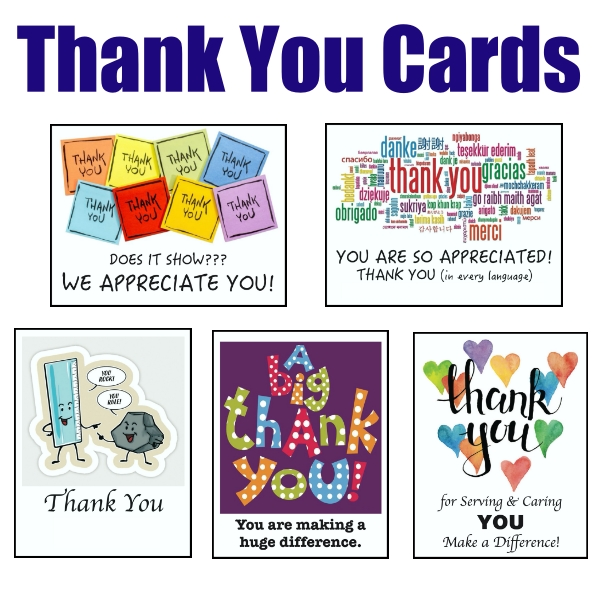 !03 Thank You Cards