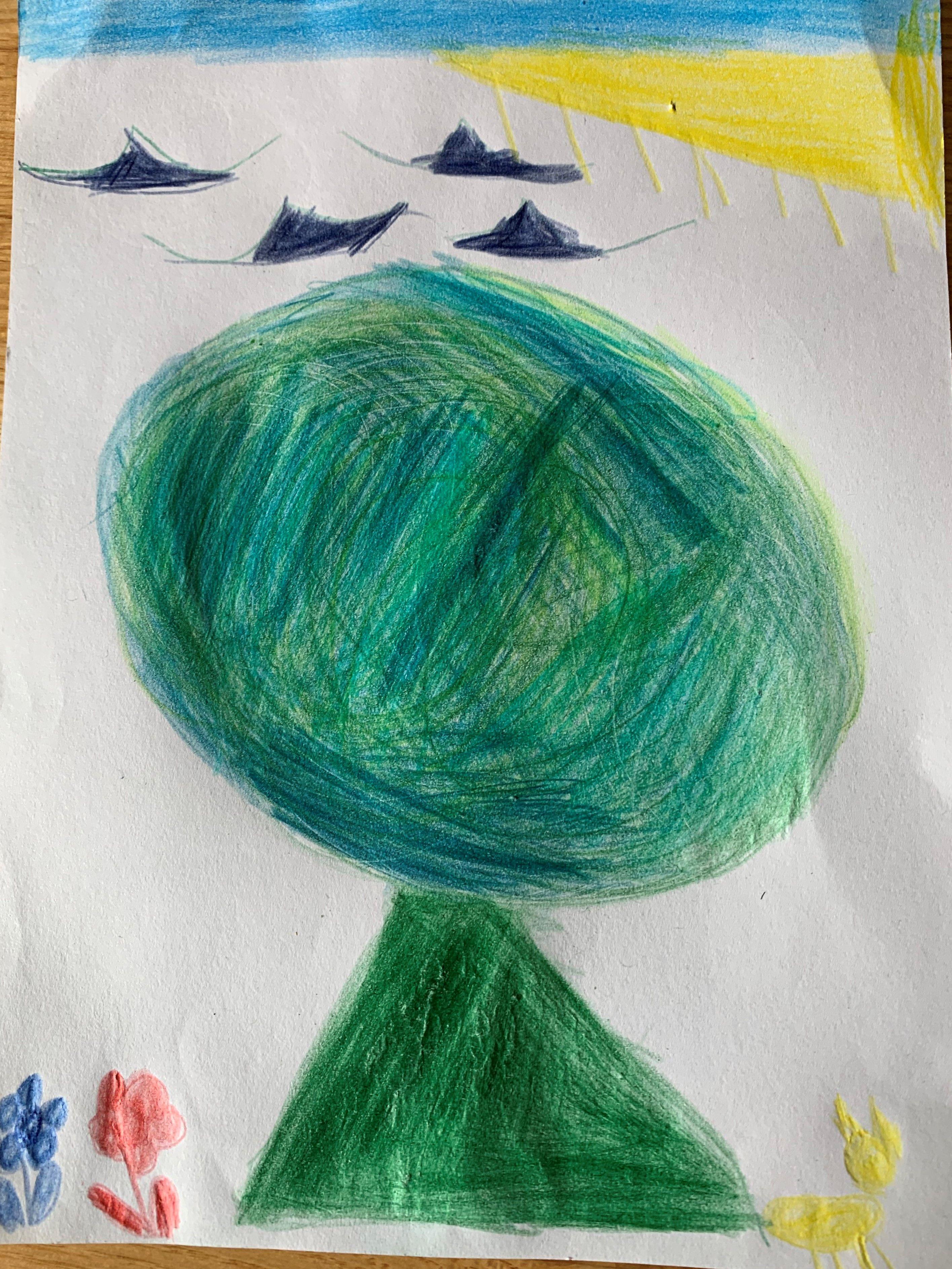 (8) The Pine Tree