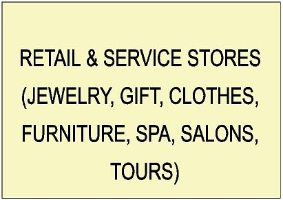 SA28000 - Retail Store Signs (Jewelry, Gifts, Art, Furniture, Photo Studios, Clothes, Housewares, Salons, Travel Agencies)