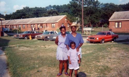 Tamika, Murley, and Ashley Davis at Warren Williams Homes