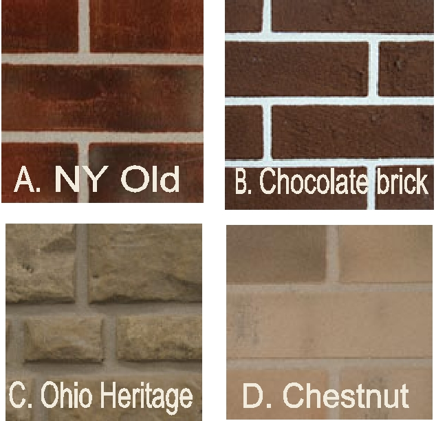 M6920 - Brick Patterns #9-#12 for Monuments