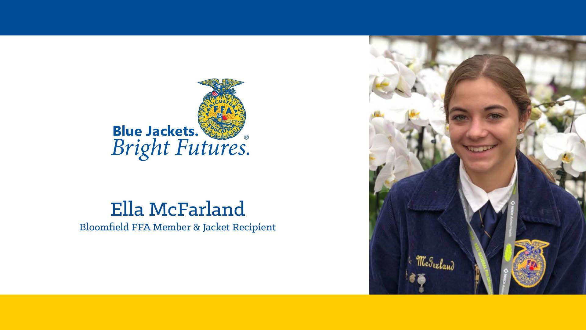 Blue Jackets. Bright Futures. Program Recipient