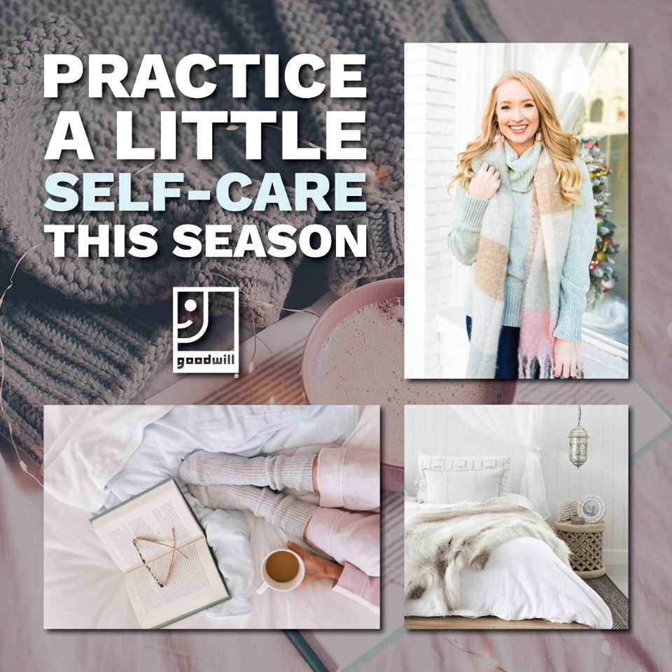 Practice Self-Care with Goodwill®