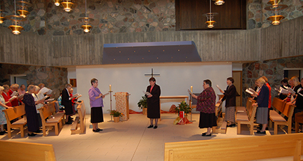 Rite of Installation - Sr. Nicole Kunze, Prioress, May 20, 2016