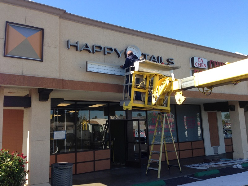 Electrical Sign Installation