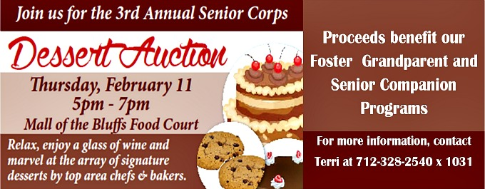 dessert auction 2016