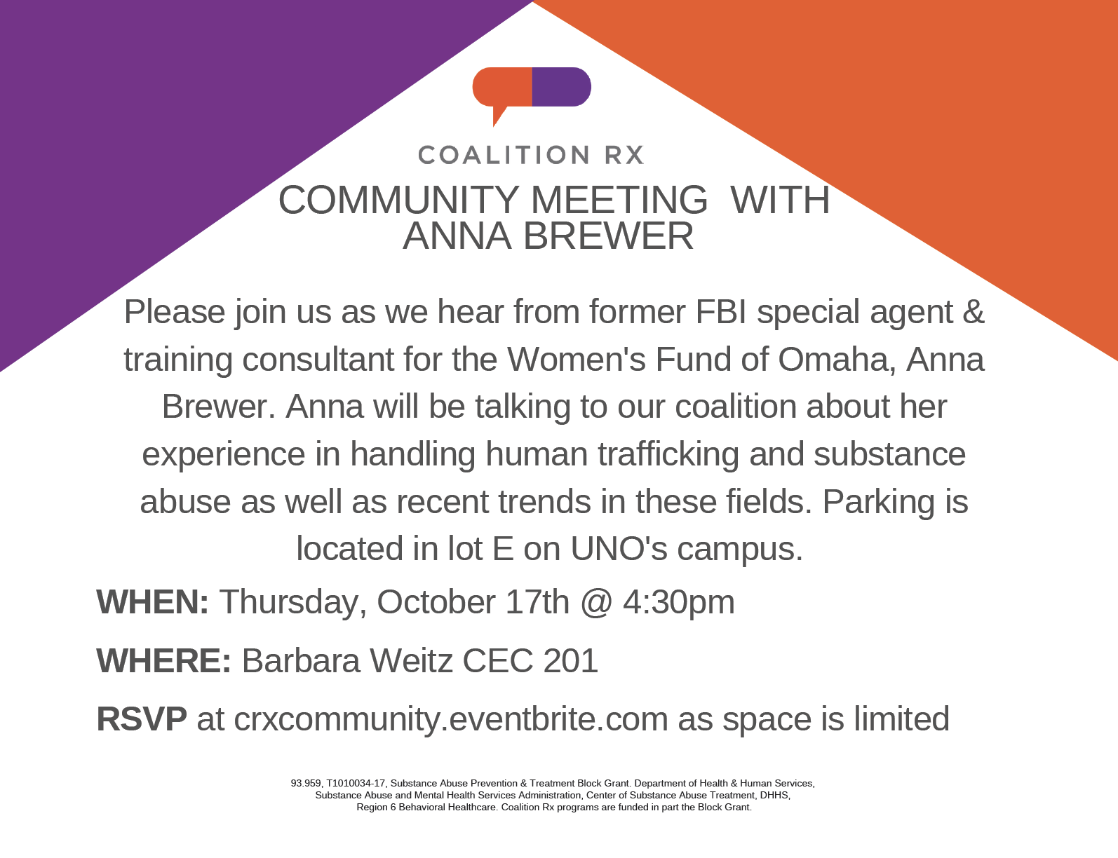 Community Meeting with Anna Brewer
