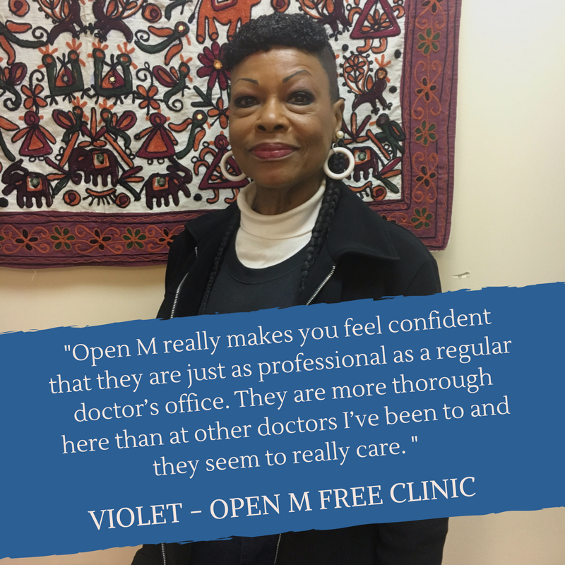 Violet - Open M Free Clinic