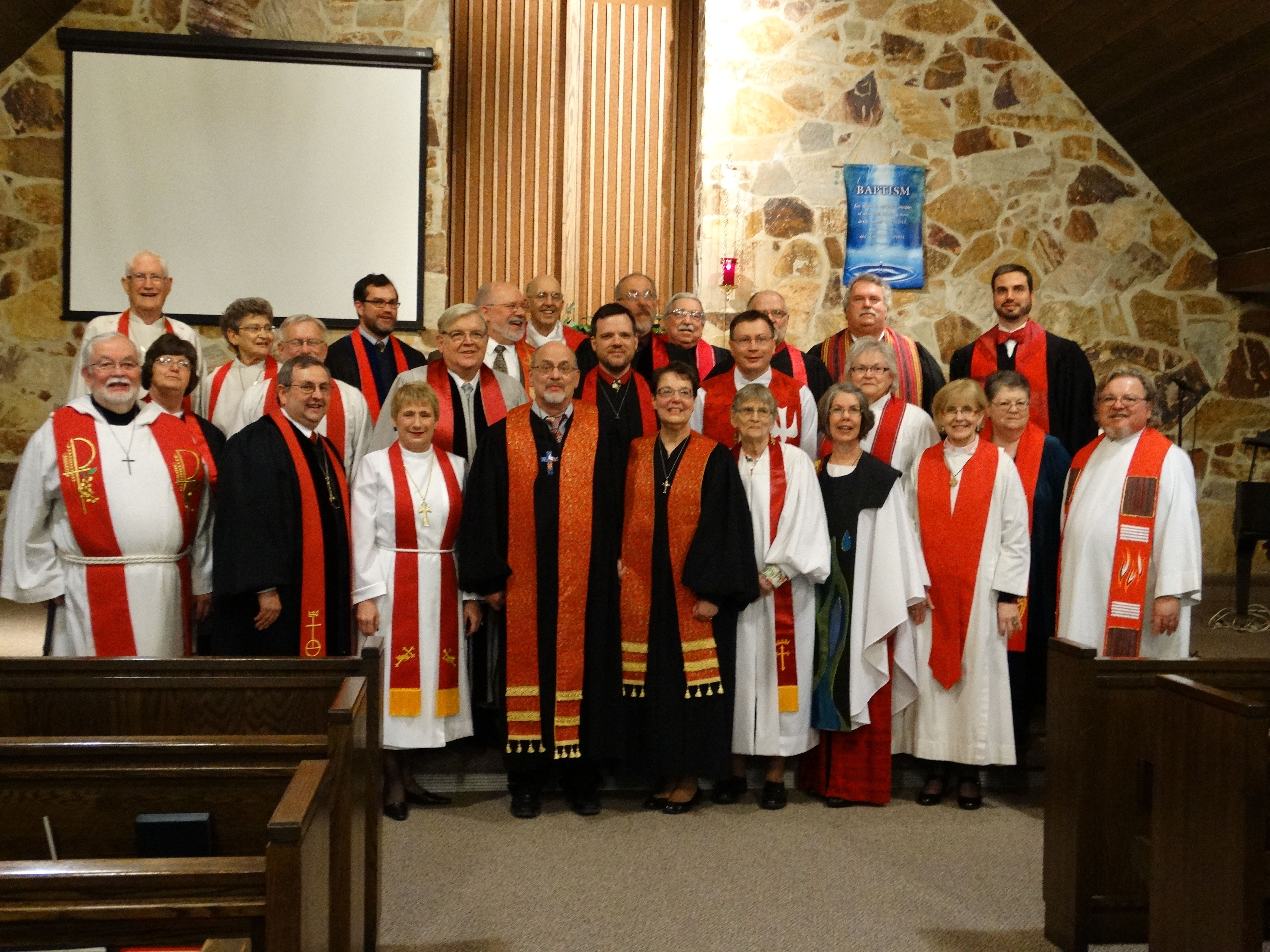 Les Parmenter's ordination