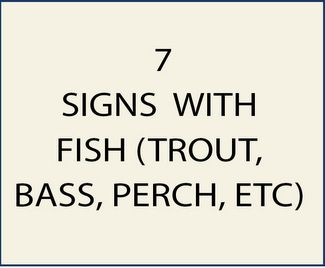 7 M22549 - Signs with Fish as Artwork
