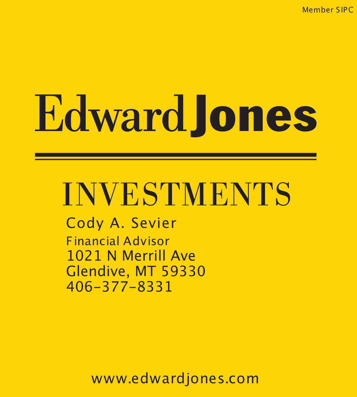 Edward Jones - Cody Sevier