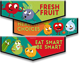 School Lunch Bunch Banners