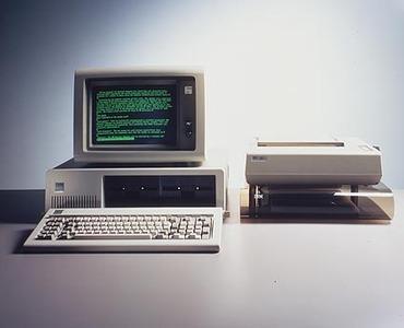 1981: IBM PC Debut