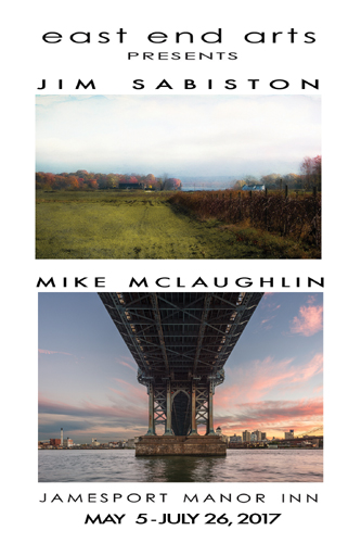 Artists Reception at the Rosalie Dimon Gallery: Featuring Photographers Jim Sabiston & Mike McLaughlin (posted May 5, 2017)