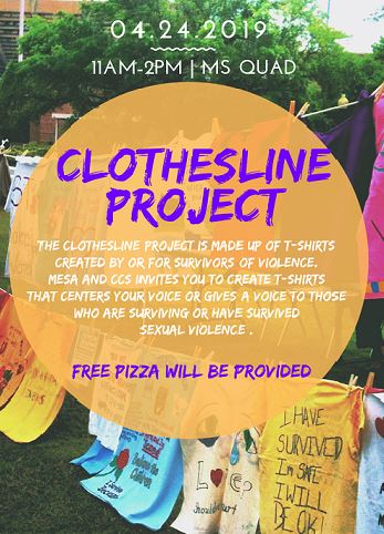 Clothes Line Project at City College