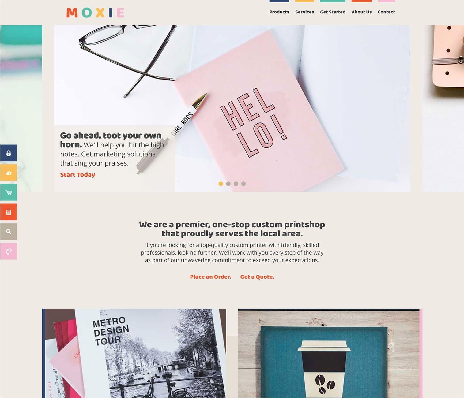 Responsive Design Printer Website Templates | PrinterPresence