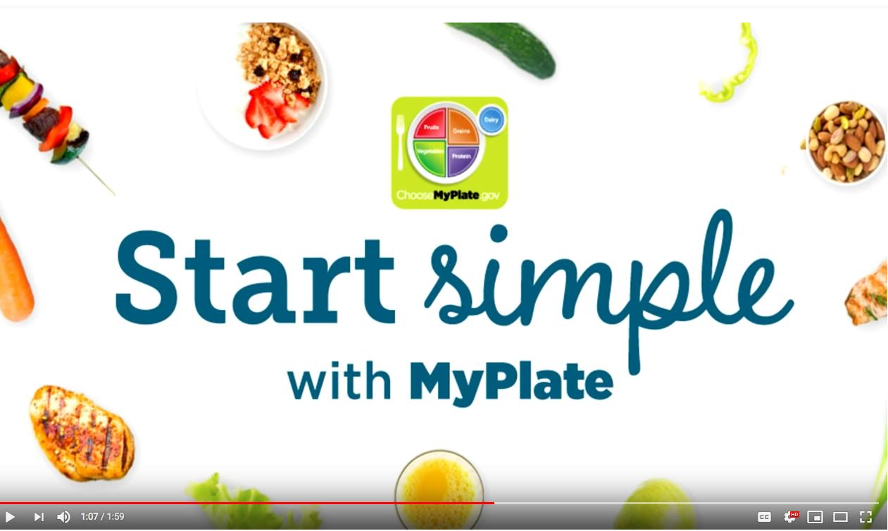 """USDA Announces """"MyPlate"""" Campaign"""