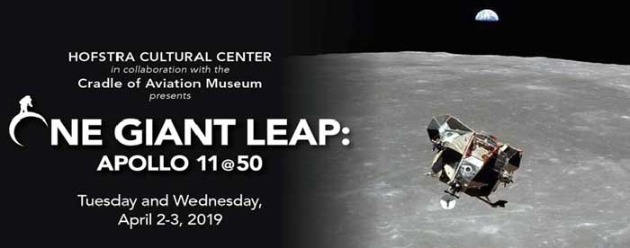 Hofstra Cultural Center Presents One Giant Leap: Apollo 11 @ 50