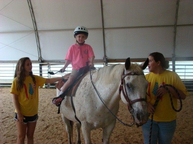 HOPE Landing Client Horse Camp