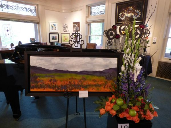 Art In Bloom: Design by Art Center Director Pat Poce