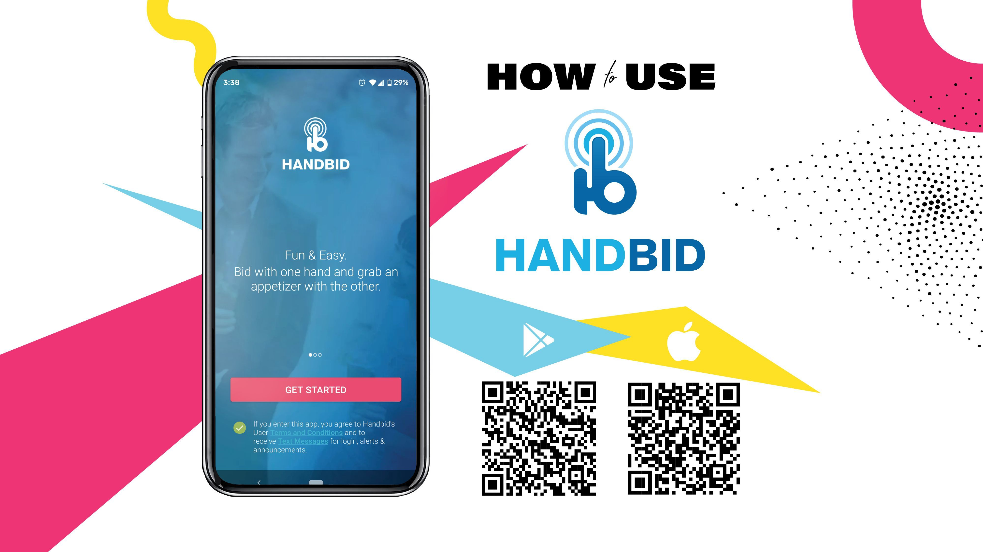 Click to learn more about using Handbid!