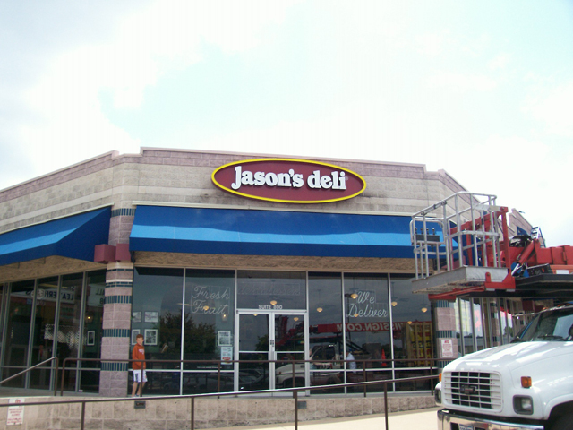 Jason's Deli- Installation