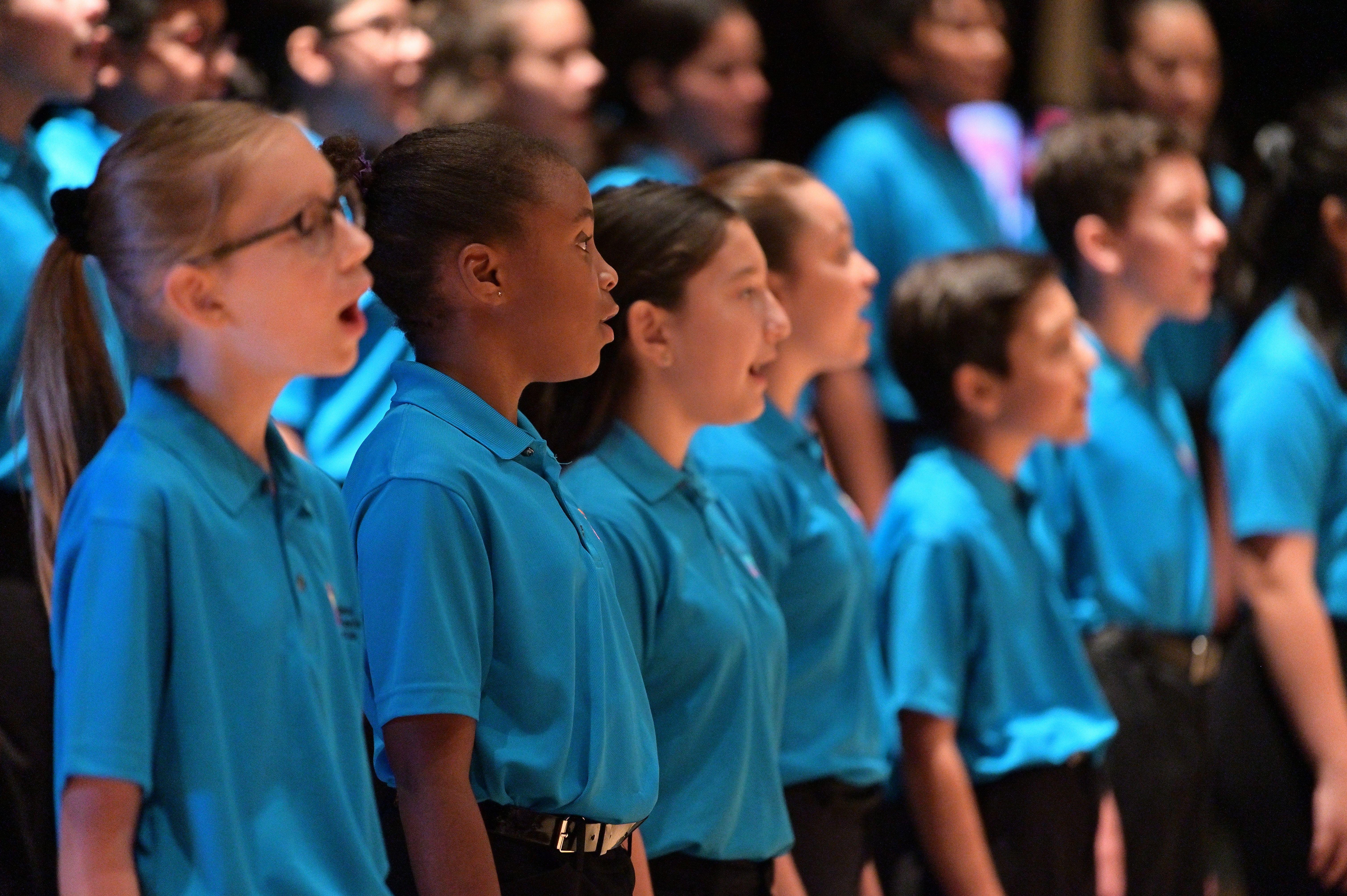 Behind the Scenes: Intermediate Chorus