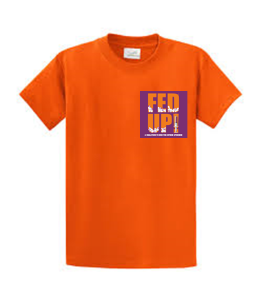 Orange Fed Up $15