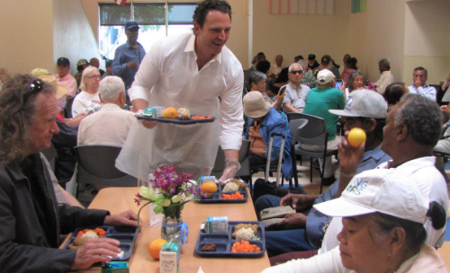 Supervisor Fletcher to Serve Lunch to Senior Citizens for National Senior Citizens Day
