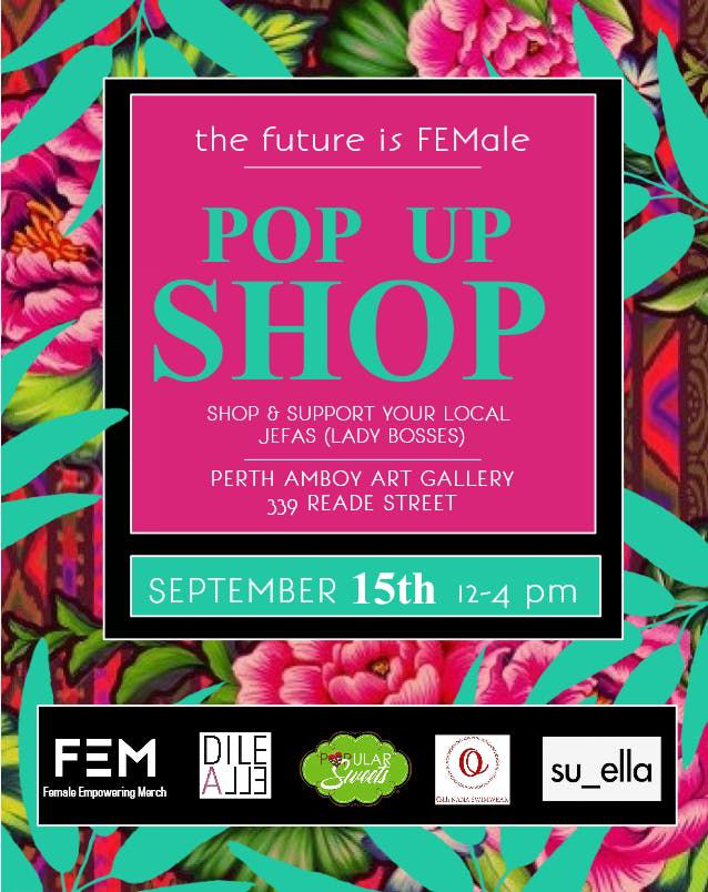 HHM-FEM Pop Up Shop