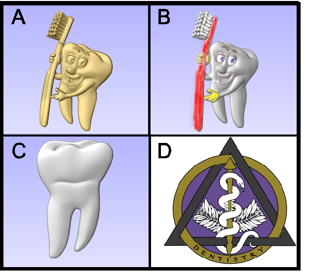 BA11665 – 3D Bas-relief Carved Art for Dentistry Signs and Plaques