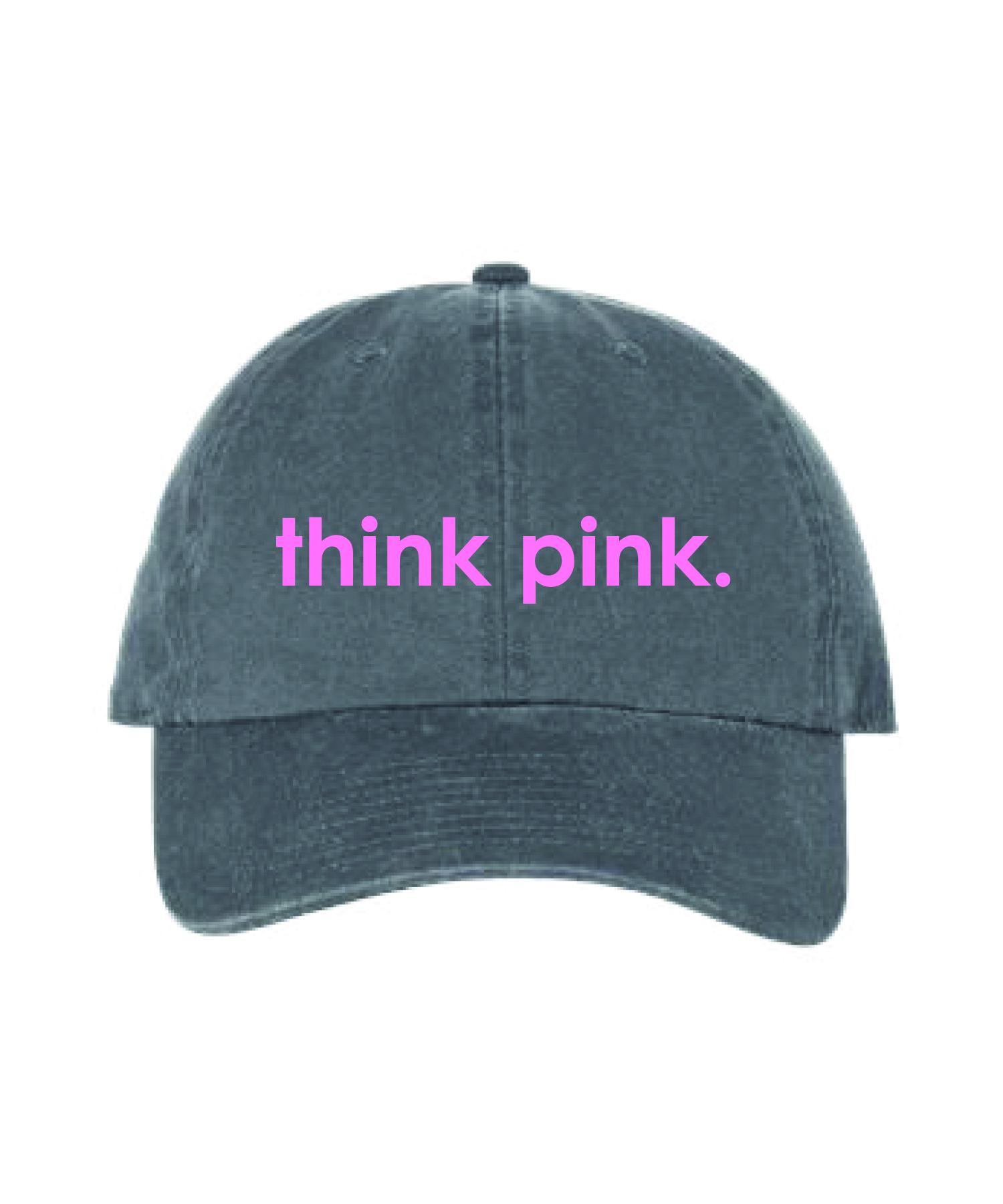 THINK PINK HAT