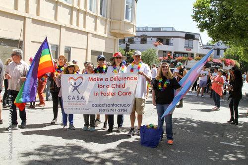 Walk with CASA in the Santa Cruz Pride Parade