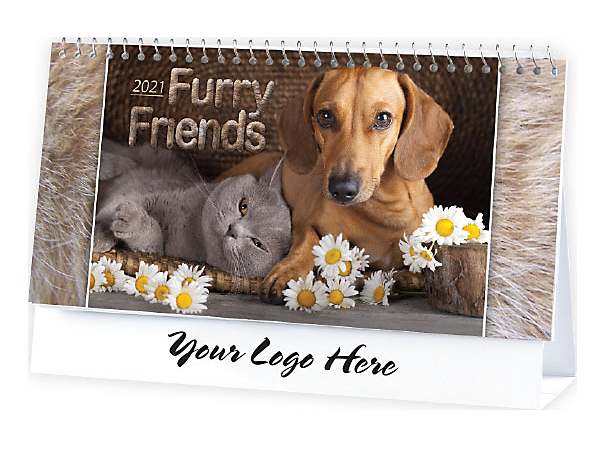 DESK CALENDAR - FURRY FRIENDS