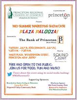 Princeton Chamber Mid-Summer Marketing Showcase 2013 Signage