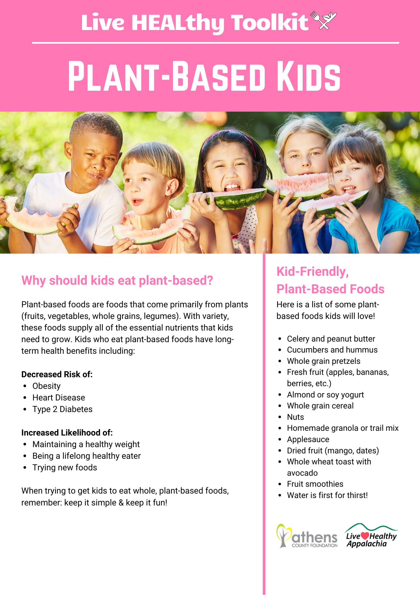 Plant Based Kids