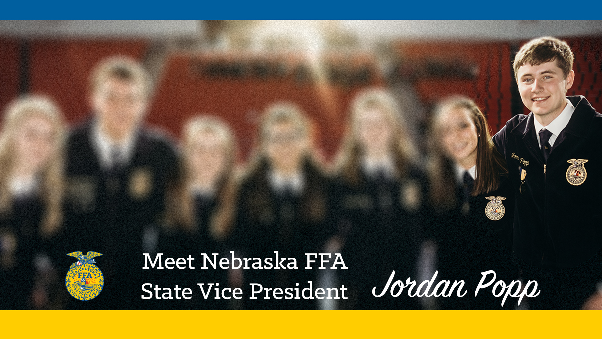 Meet Your 2018-19 Nebraska FFA State Vice President: Jordan Popp